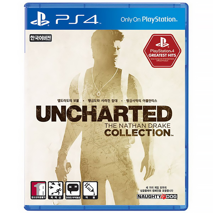 PS4 언차티드 The Nathan Drake Collection 한글판