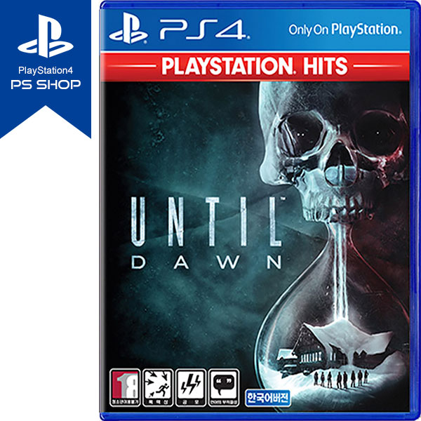 PS4 언틸던 한글판 UNTIL DAWN / PLAYSTATION HIT